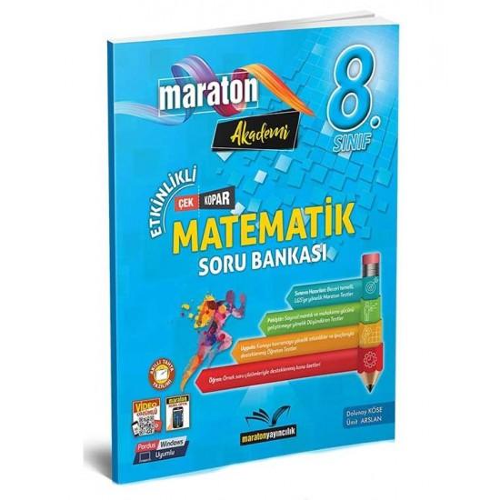 Maraton Yayıncılık 8. Sınıf LGS Matematik Etkinlikli Soru Bankası