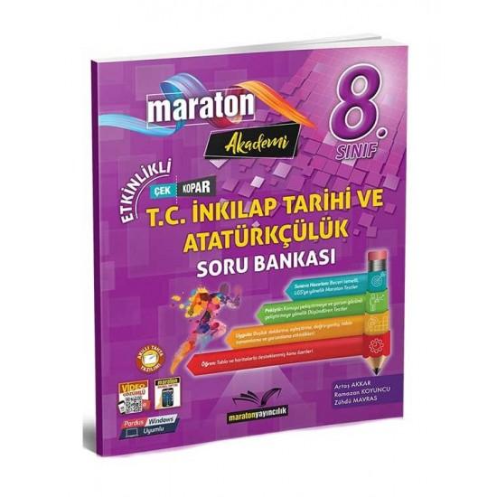 Maraton Yayıncılık 8. Sınıf LGS T.C. İnkılap Tarihi ve Atatürkçülük Etkinlikli Soru Bankası