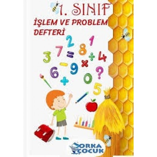 Orka Çocuk 1. Sınıflar işlem ve problem defteri