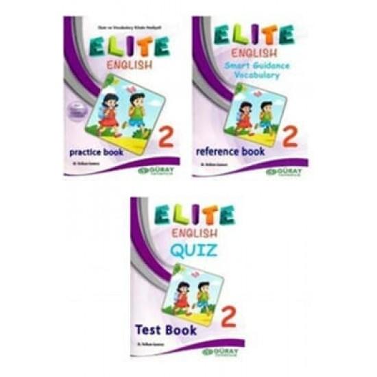 Güray Yayınları Elite English 2. Sınıf Ingilizce Seti Elt2 Güray Yayınları