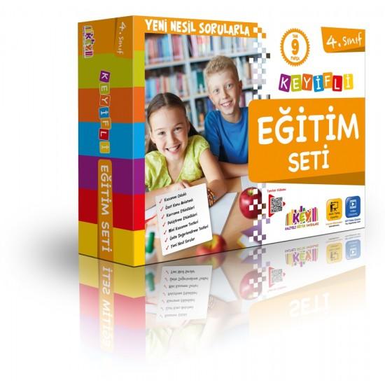 Key yayınları 4. Sınıf Keyifli Eğitim Seti (9 Kitap)