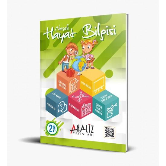 Analiz Yayınları 2.Sınıf Neşeli Kazandıran Eğitim seti 4 kitap