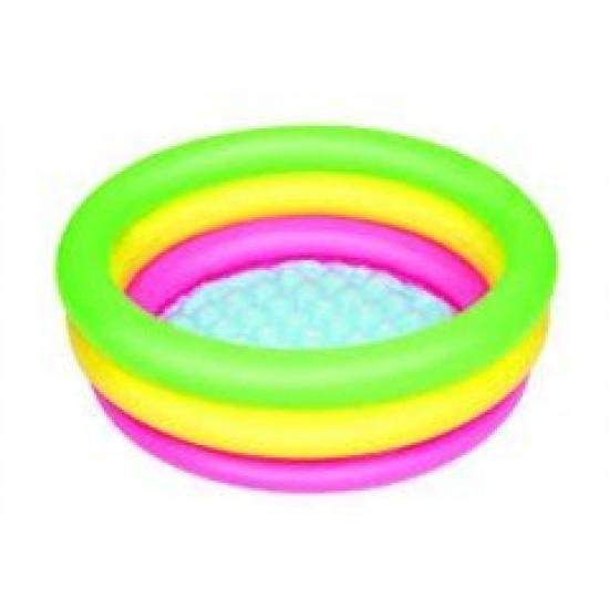 Bestway 3 Bölmeli Çocuk Havuzu 70cm 24 cm