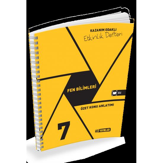 Hız Yayınları 7. Sınıf Fen Bilimleri Etkinlik Defteri 2020-2021