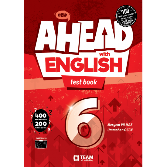 TEAM 6 . SINIF AHEAD WİTH ENGLISH TEST BOOK