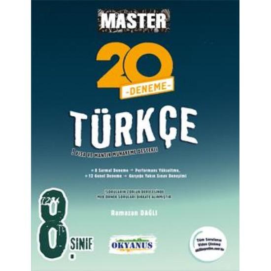 Okyanus Yayınları 8. Sınıf Master 20 Türkçe Denemesi