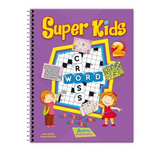 akıl yolu publishing Super Kids Eğlenceli Bulmacalar