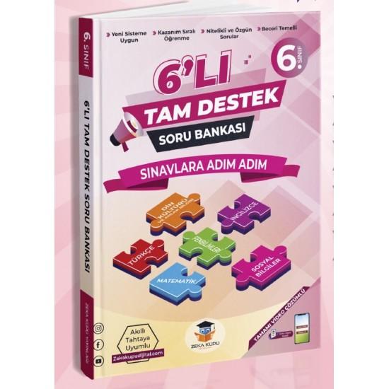 Zeka Küpü Yayınları 6. Sınıf Tam Destek Soru Bankası