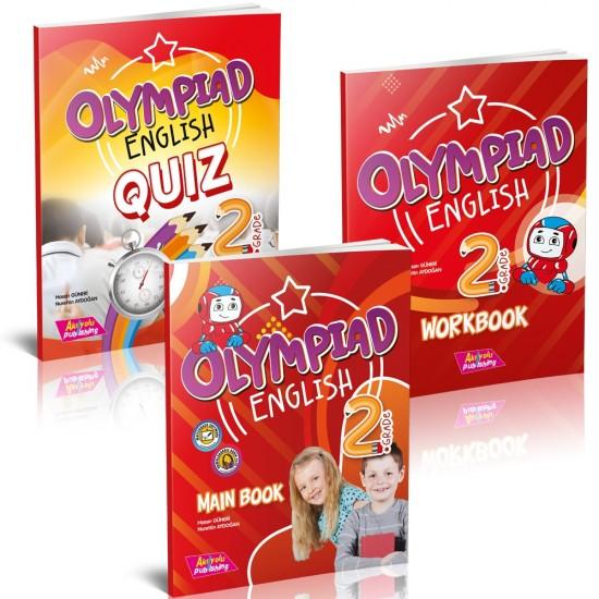 AKIL YOLU PUBLİSHİNG NEW OLYMPİAD 2.SINIF ENGLİSH (BOOK AND NOTEBOOK + GOLD TEST)