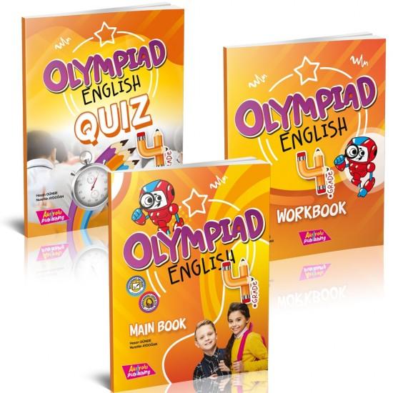 AKIL YOLU PUBLİSHİNG NEW OLYMPİAD 4.SINIF ENGLİSH (BOOK AND NOTEBOOK + GOLD TEST)