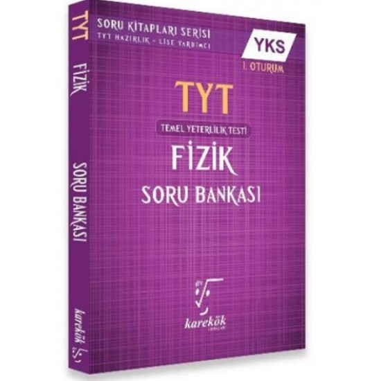 Karekök TYT Fizik Soru Bankası Yeni