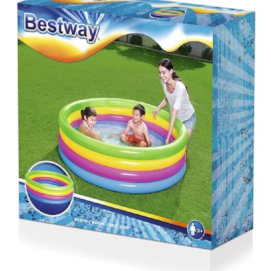 Bestway 4 Renk Neon Çocuk Havuzu BW51117