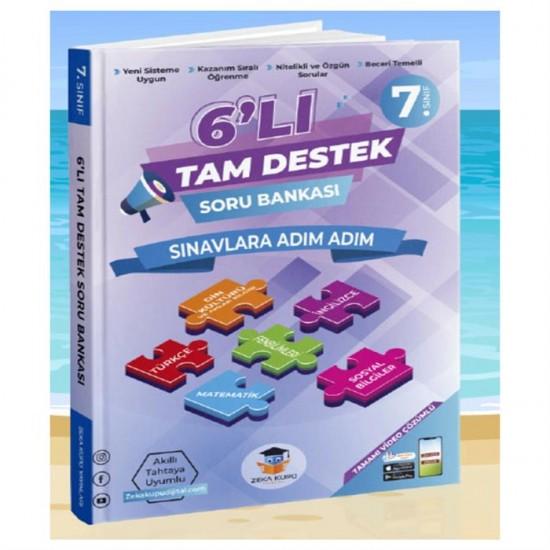 Zeka Küpü Yayınları 7. Sınıf 6'lı Tam Destek Soru Bankası
