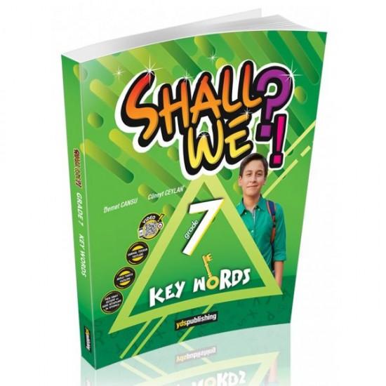YDS Publishing Shall We?! Grade 7.Sınıf Key Words Vocabulary Book