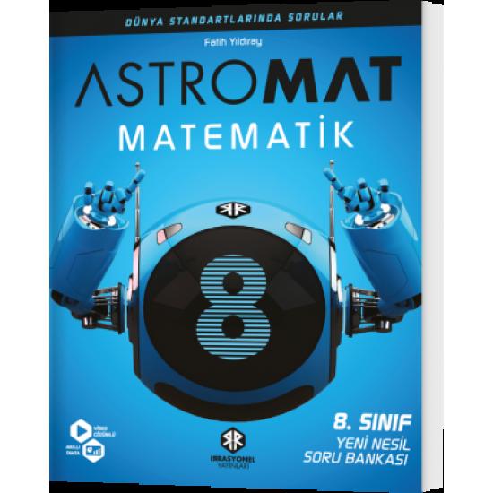 İrrasyonel Yayınları Astromat 8. Sınıf Yeni Nesil Matematik Soru Bankası