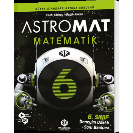 İrrasyonel Yayınları Astromat 6. Sınıf Deneyim Odaklı Matematik Soru Bankası