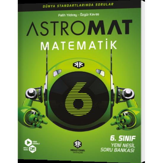 İrrasyonel Yayınları Astromat 6. Sınıf Yeni Nesil Matematik Soru Bankası