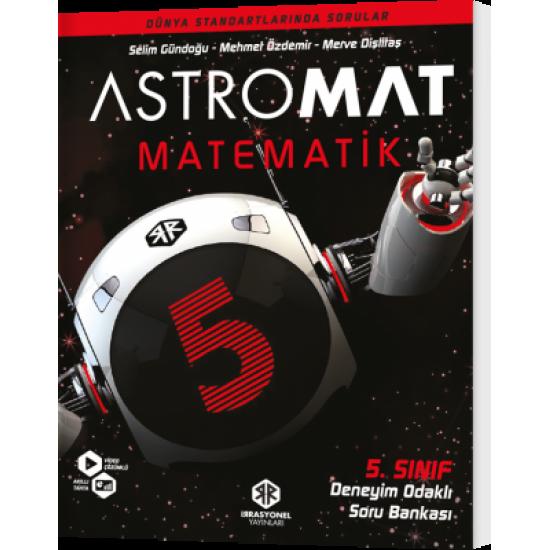 İrrasyonel Yayınları Astromat 5. Sınıf Deneyim Odaklı Matematik Soru Bankası