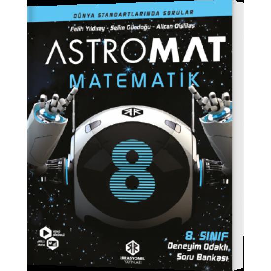 İrrasyonel Yayınları Astromat 8. Sınıf Deneyim Odaklı Matematik Soru Bankası