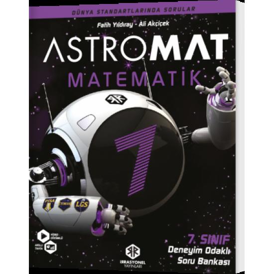İrrasyonel Yayınları Astromat 7. Sınıf Deneyim Odaklı Matematik Soru Bankası