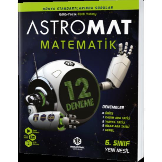 İrrasyonel Yayınları Astromat 6. Sınıf Yeni Nesil Matematik 12'li Deneme
