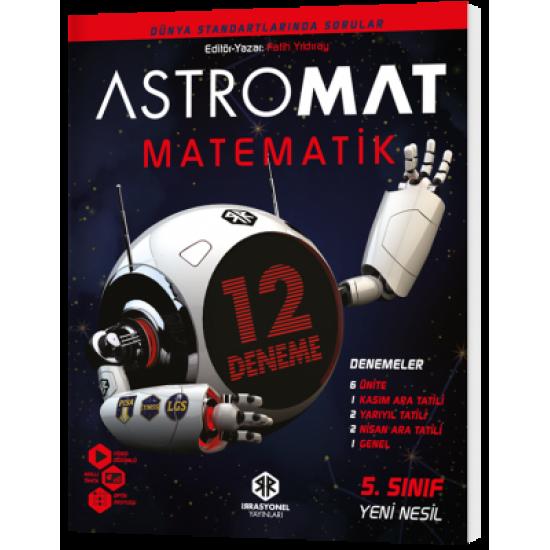 İrrasyonel Yayınları Astromat 5. Sınıf Yeni Nesil Matematik 12'li Deneme