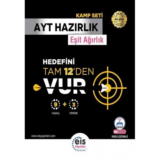 EİS Yayınları AYT KAMP KİTABI 9 FASİKÜL + 3 AYT DENEMESİ (EA-SÖZ)